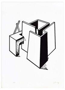 Ivo Pannaggi, 'Architectural Construction', ca. 1975