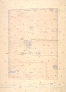 Shoichi Ida, 'Garden Project--Wood, Paper, Fire and Rain--Between Vertical and Horizon', 1986