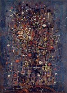 Charles Pollock (1902-1988), 'Untitled [Fireworks]', 1950