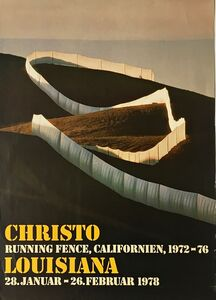 Christo, 'Running Fence Exhibition from the Estate of Jacob and Aviva Baal-Teshuva', 1978
