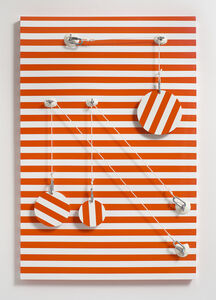 Joshua Saunders, 'Orange_Stripes', 2016