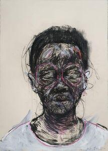 Nelson Makamo, 'Portrait of Girl', 2016-2018