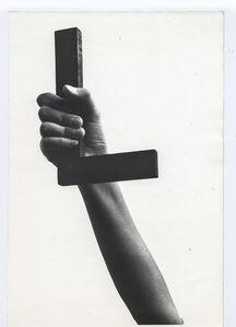 Josef Bauer, 'Language of Showing (L)', 1969