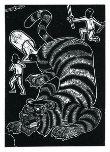 Jan Curious, 'Chinese Zodiac -Tiger', 2015