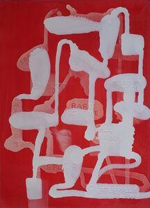 Graham Gillmore, 'Red Horses', 2017