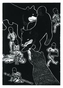 Jan Curious, 'Chinese Zodiac – Dog', 2015
