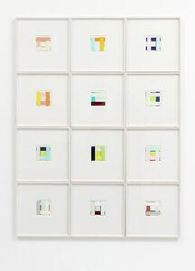 Imi Knoebel, 'Faces (49-60)', 2003/2015