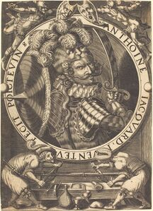 Antoine Jacquard, 'Self-Portrait (The Trade Card of Anthoine Jacquard)'