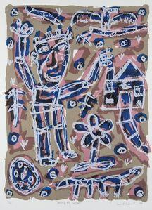 David Larwill, 'Waving Boy (Winter)', 1999