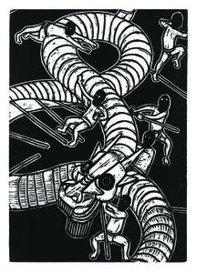 Jan Curious, 'Chinese Zodiac - Dragon', 2015