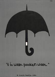 Dick Bruna, 'Poster Zwarte Beertjes', 1967