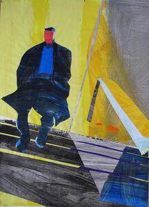 David Kapp, 'Coming into the Subway', 2014