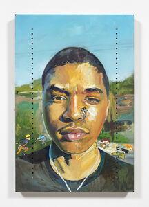 Yung Jake, 'Untitled Portrait of Jon (mandark, naruto, gumball, dannie and kim possible)', 2020