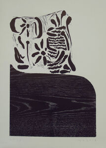 Humphrey Ocean, 'Violet Chair', 2018