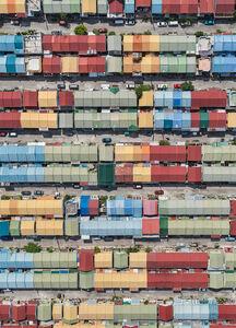 Bernhard Lang, 'Aerial Views, Manila 07', 2017
