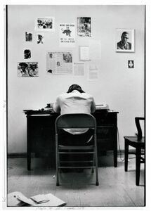 Gordon Parks, 'Stokely Carmichael in SNCC Office', 1967