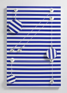 Joshua Saunders, 'Blue_Stripes', 2016