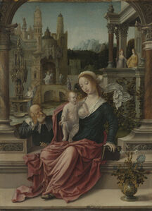 Jan Gossaert, 'The Holy Family', 1507-1508