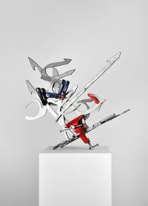 Mounir Fatmi, 'Calligraphy of Fire 01', 2012