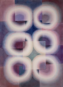 Susan Pasquarelli, 'Light Rings Violet', 2019