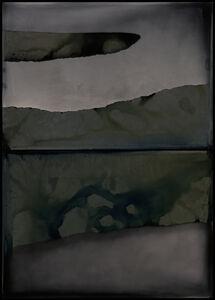 Nadezda Nikolova-Kratzer, 'Elemental Forms, Landscape no. 24 (Diptych - Water, Land, Water)', 2018