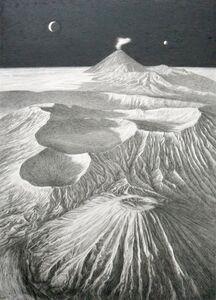 Frankie Gao, 'Study of Volcano #3', 2019