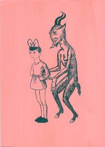 Aleksandra Waliszewska, 'Untitled (Girl with The Devil)', 2014