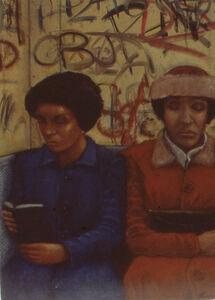Matthew Mayer, '1984 Subway', 2018