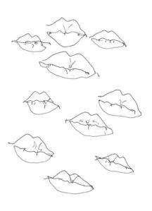 Alison Limtavemongkol, 'Self Portrait (Blind Lips)', 2016