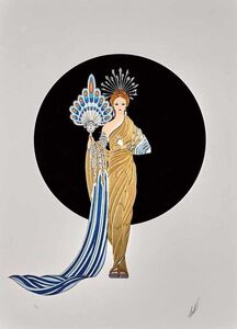 Erté (Romain de Tirtoff), 'Athena (Legends)', 1986
