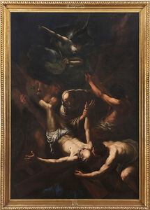 Giovanni Beinaschi, 'The Martyrdom of Saint Peter', ca. 1660