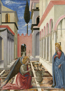 Fra Carnevale, 'The Annunciation', ca. 1445/1450