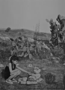 Samah Shihadi, 'Reconstruction,', 2018