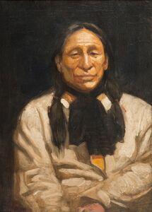 Edwin Willard Deming, 'Iron Tail', 1910