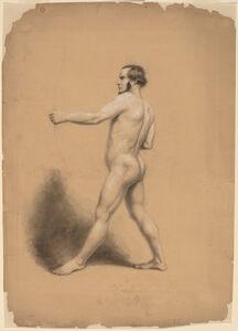 Thomas Nast, 'Archer, Nude Study', ca. 1858