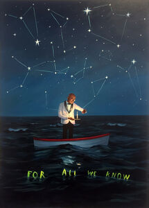 Oliver Jeffers, 'For All We Know', 2018