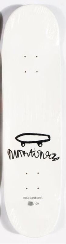 Eddie Martinez, 'Signed limited edition skateboard deck ', 2016, Print, Screenprint on seven-ply Canadian maple wood skateboard deck, EHC Fine Art