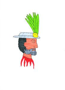 Carlos Colín, 'Máscara del Conquistador (Conquistador Mask', 2014