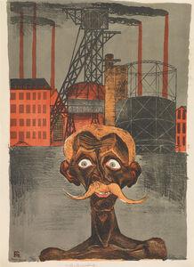 Conrad Felixmuller, 'KOHLENBERGARBEITER', 1920