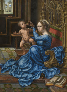 Jan Gossaert, 'Madonna and Child', ca. 1532