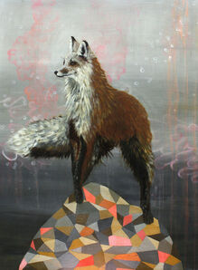 Anne Siems, 'Fox on Hill'