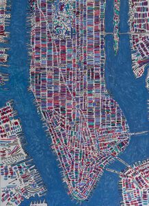 Barbara Macfarlane, 'Manhattan Purple, Magenta, Violet', 2020