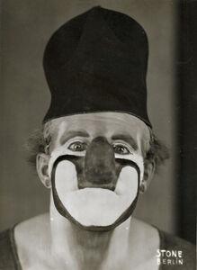 Sasha Stone, 'Clown Charlie Rivel', 1931