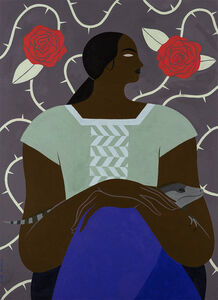 Hilda Palafox, 'Mujer e Iguana', 2020