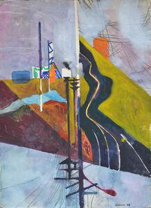 Keith Crown, 'Pacific Coast Hwy through El Segundo', 1978