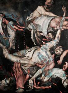 Masha Gusova, 'The Inevitable Decline (after  Ribera and Caravaggio) ', 2019