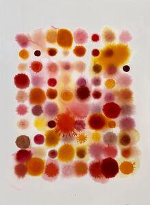 Lourdes Sanchez, '80 Dots, Mostly Orange', 2020