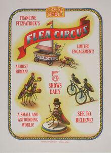 Beauvais Lyons, 'Circus Orbis Souvenir Print: Flea Circus', 2018