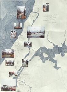 Danica Phelps, 'Walking 9-5, March 21, 2001, Greenpoint, Brooklyn to Riverdale, Bronx, NYC', 2001