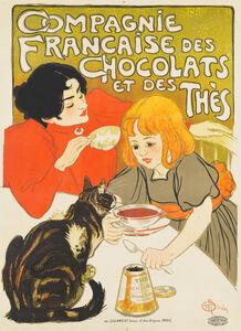 Théophile Alexandre Steinlen, 'Compagnie Francaise des Chocolats et des Thes', 1895